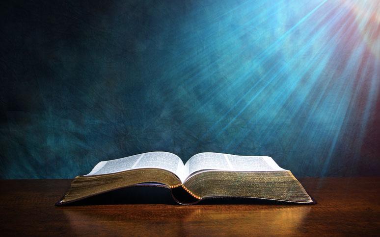 biblia abierta en el salmo 91