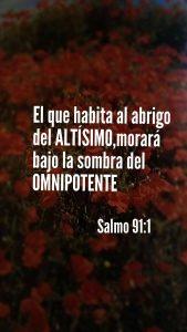 imágenes del salmo 91:1