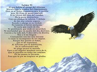 salmo 91 con aguilas