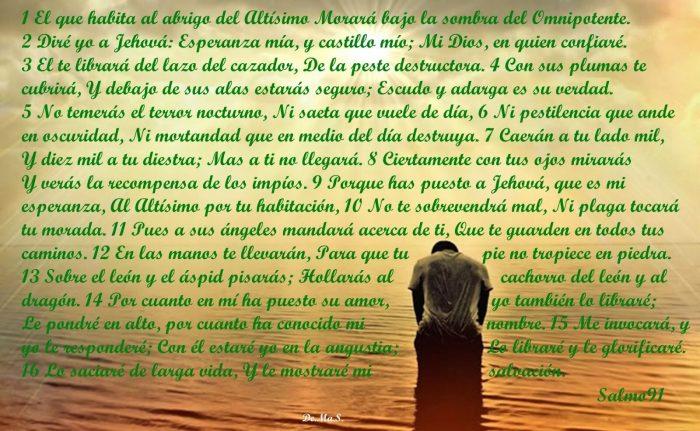 salmo 91 contra brujerias