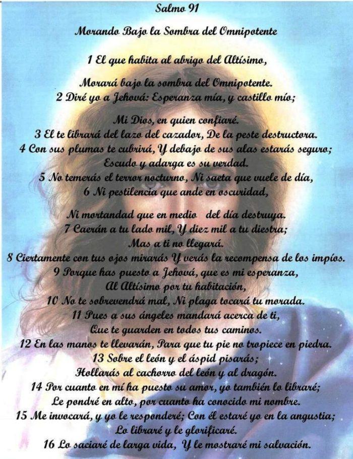 salmo 91 oración de poder