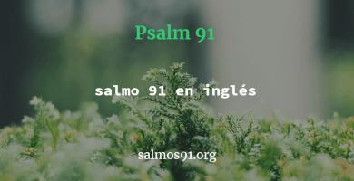 salmo 91 en inglés