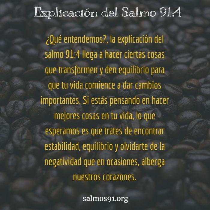explicacion del salmo 91 4