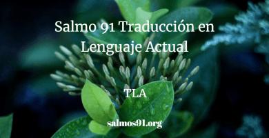 Salmo 91 Traducción en Lenguaje Actual