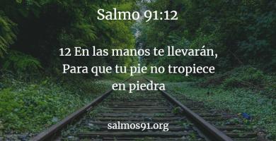 salmo 91 12