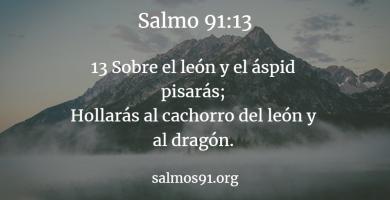 salmo 91 13