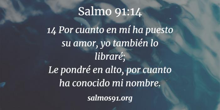 salmo 91 14