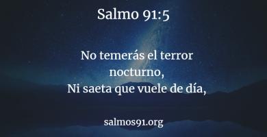 salmo 91 5