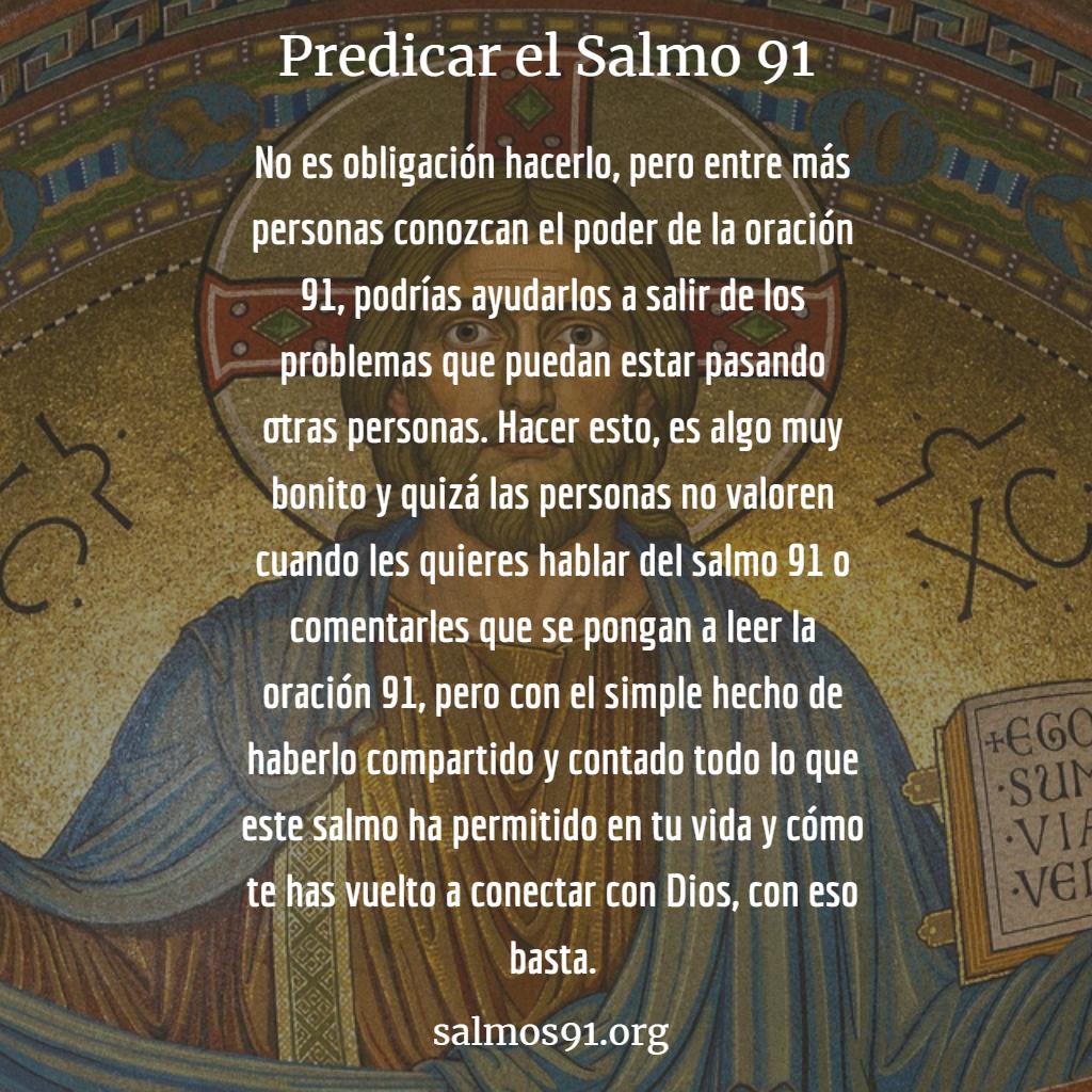 predicar el salmo 91
