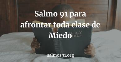salmo 91 miedo