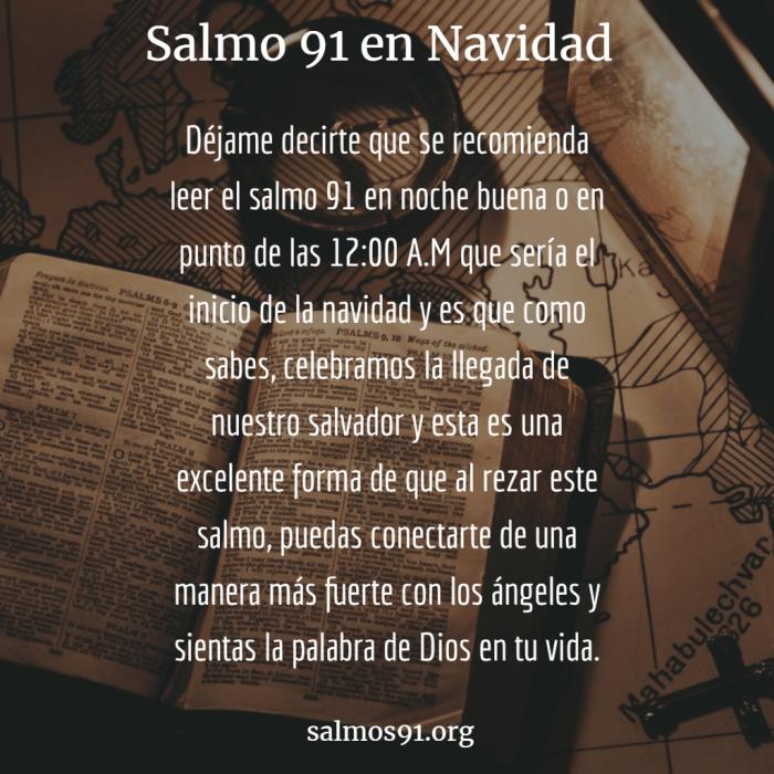 salmo 91 en navidad
