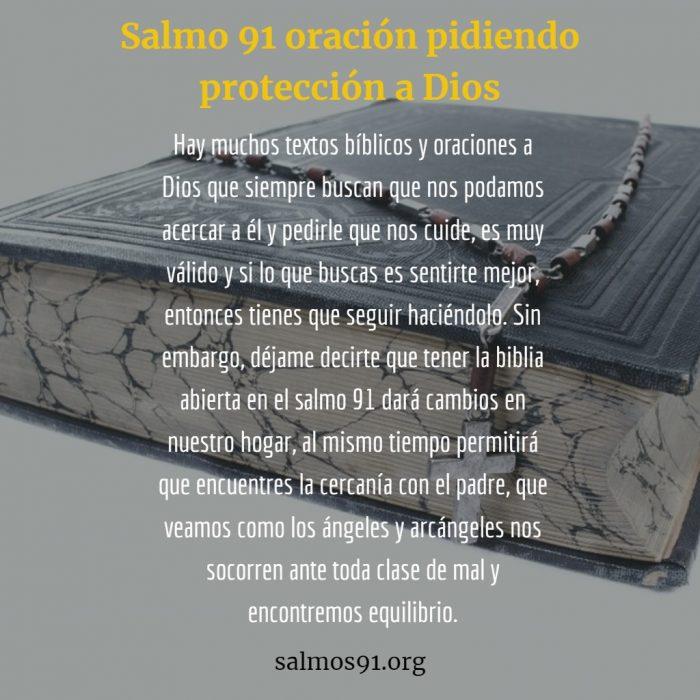 Oración de Protección Salmo 91