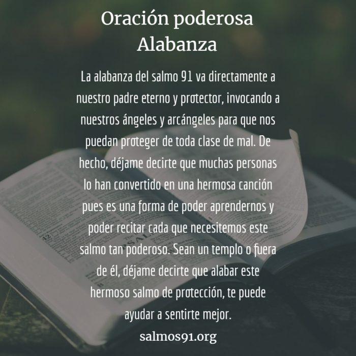 Salmo 91 oración poderosa Alabanza