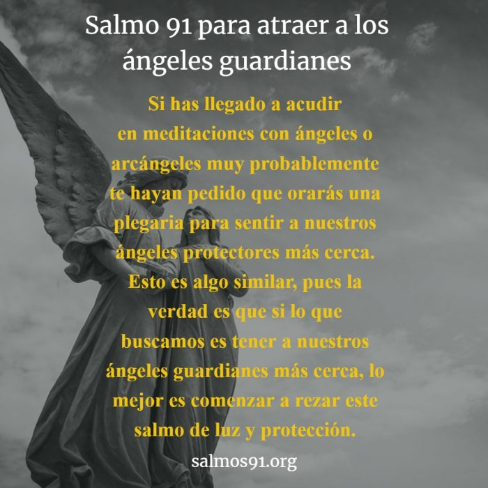 salmo 91 para atraer a tus ángeles