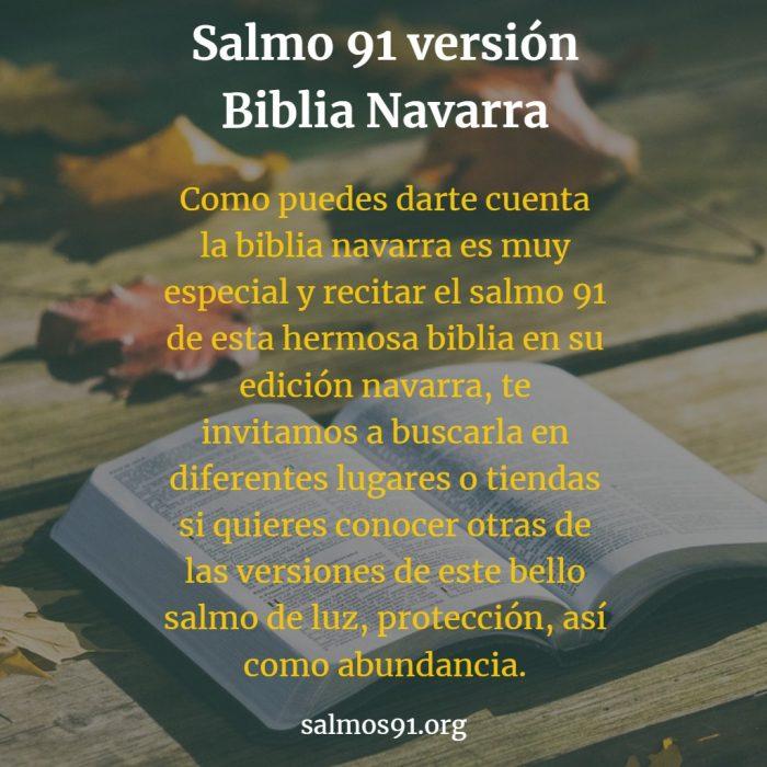 salmo 91 biblia navarra