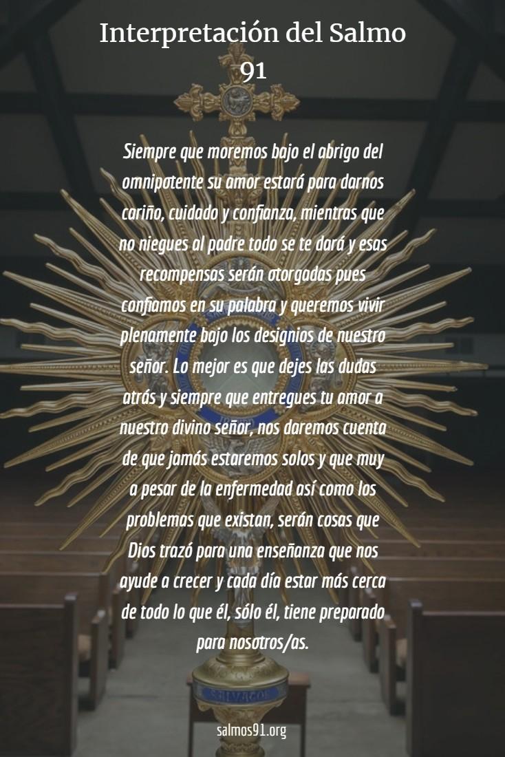 interpretación del salmo 91