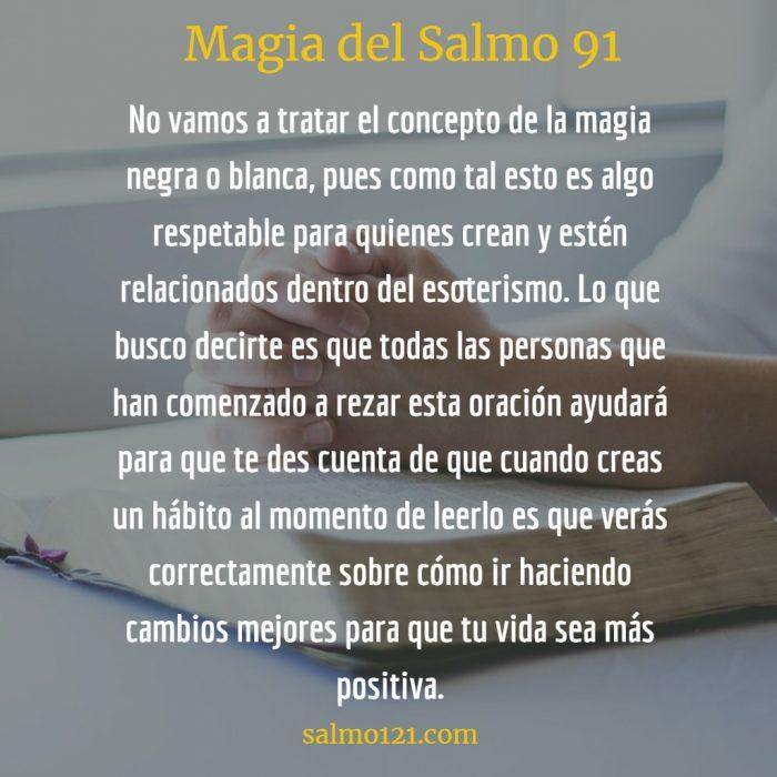 magia del salmo 91