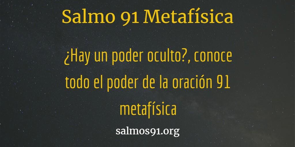 oracion 91 metafisico