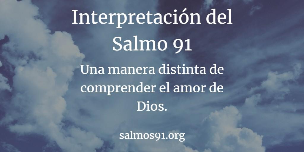 salmo 91 interpretación