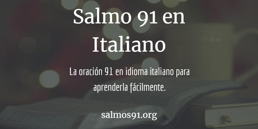 salmo 91 italiano