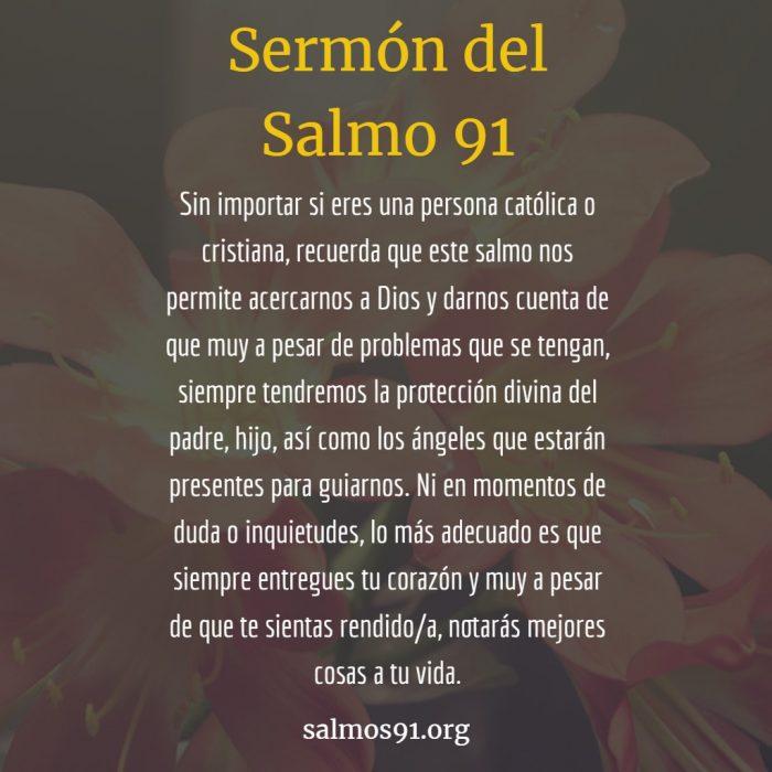 sermón del salmo 91