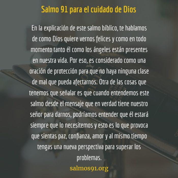 salmo 91 pasaje bíblico