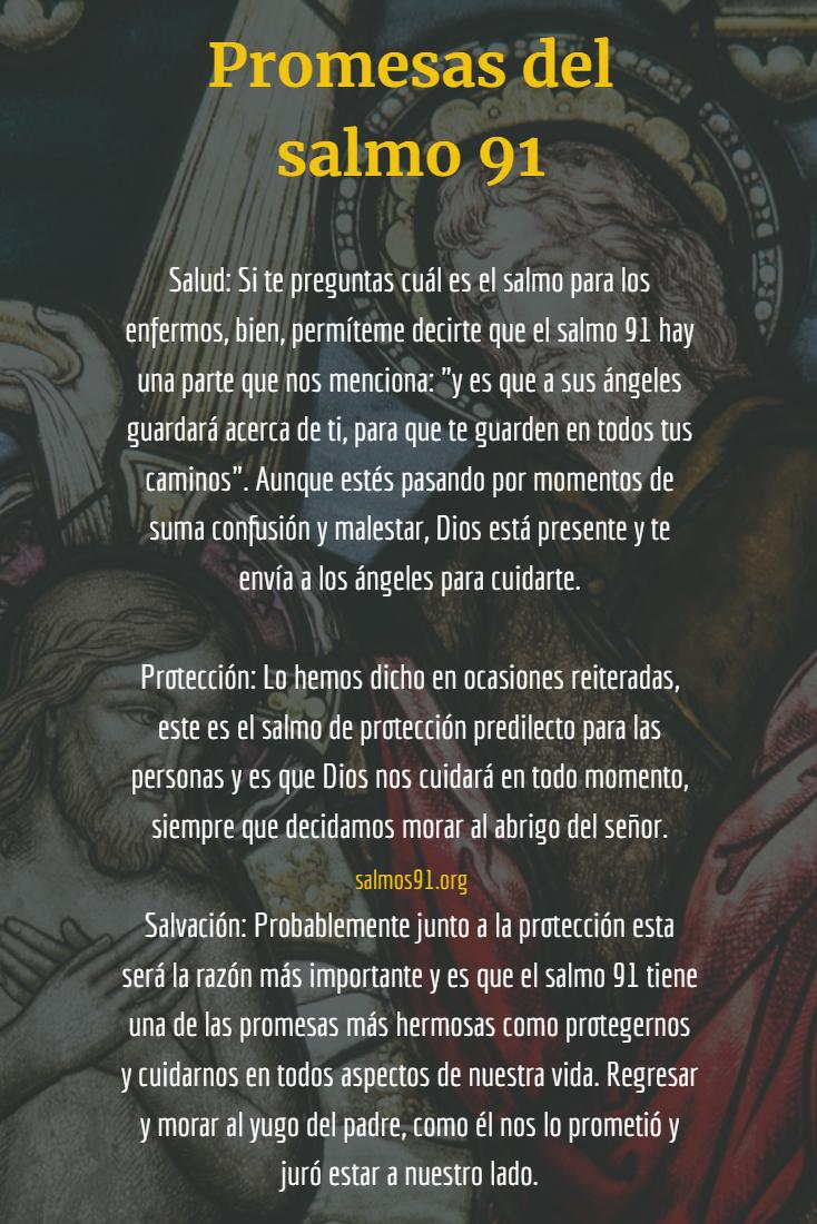 promesas del salmo 91